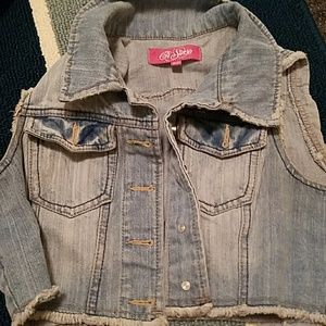 Other - Jean vest size medium